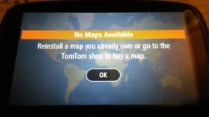 tomtom no maps found ile ilgili görsel sonucu