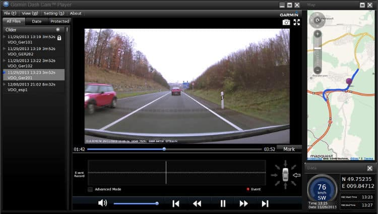DriveAssist Dash Cam Player