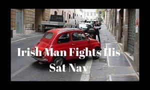 Irish Man Fights His Sat Nav