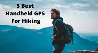 5 Best Handheld GPS hiking - Man on a mountain looking into the distance
